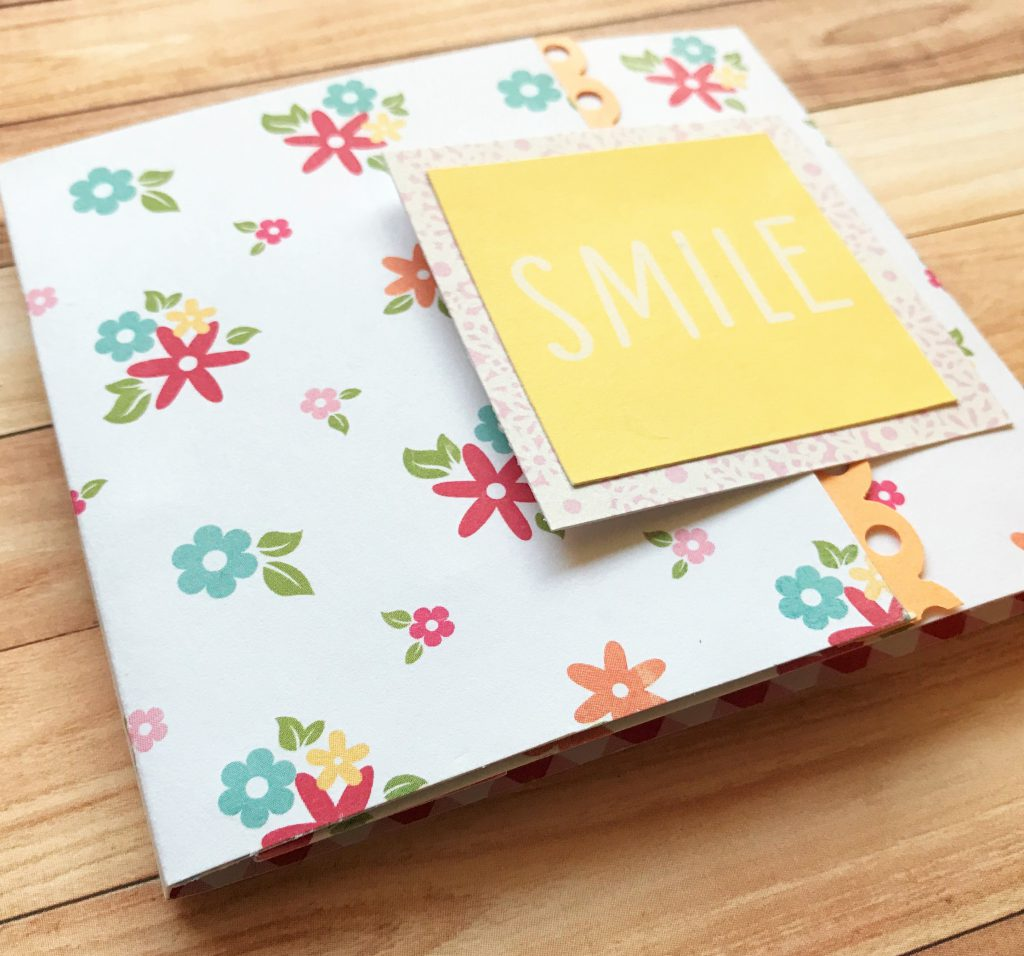 エコー写真のミニブックを母子手帳へ貼る